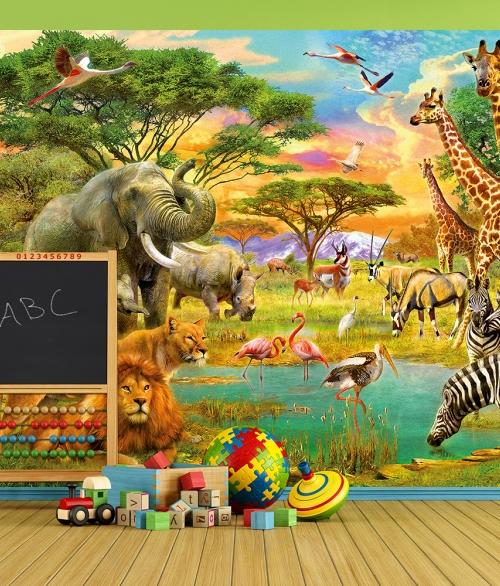 154 African Animals