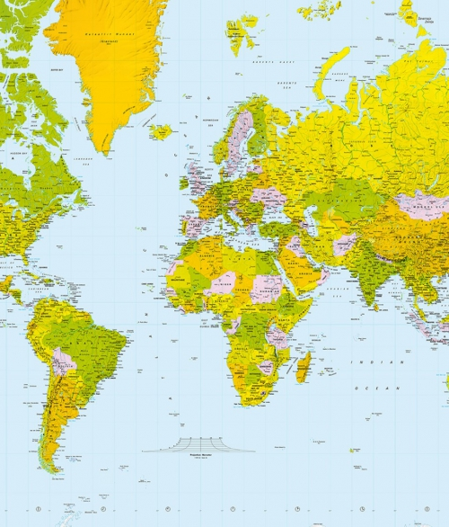 624 Map of the world