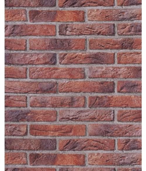 Tapet Natur mursten (UDSALG)