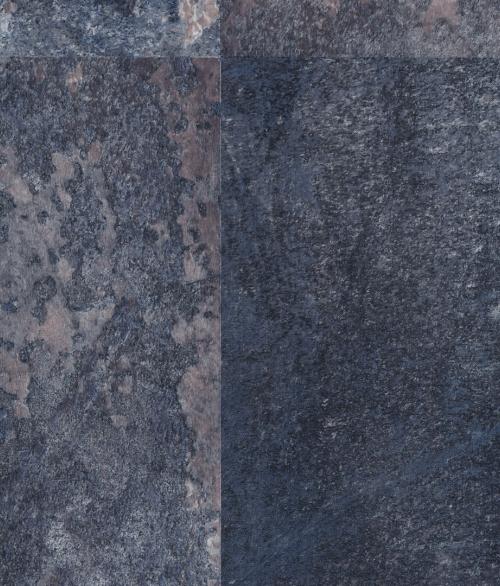 Blå Oxideret Stål 45x200cm