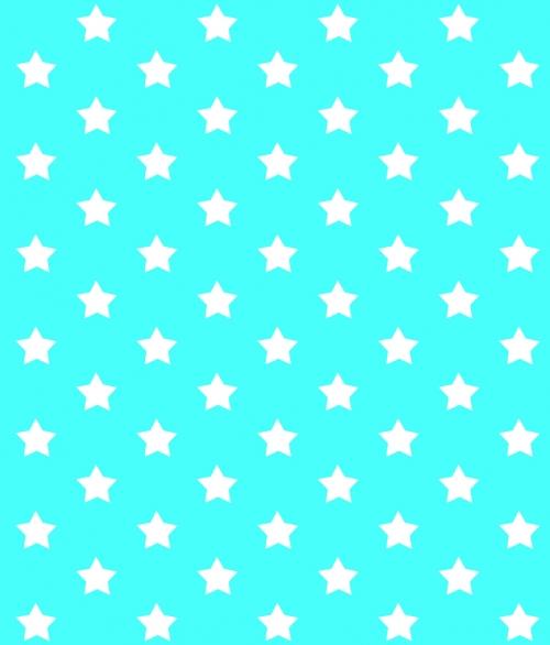 Blå Stjerner 45x200cm