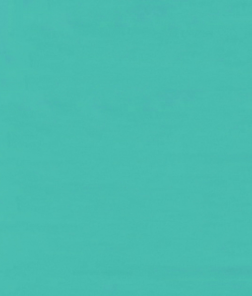 Havblå Blank 45x200cm