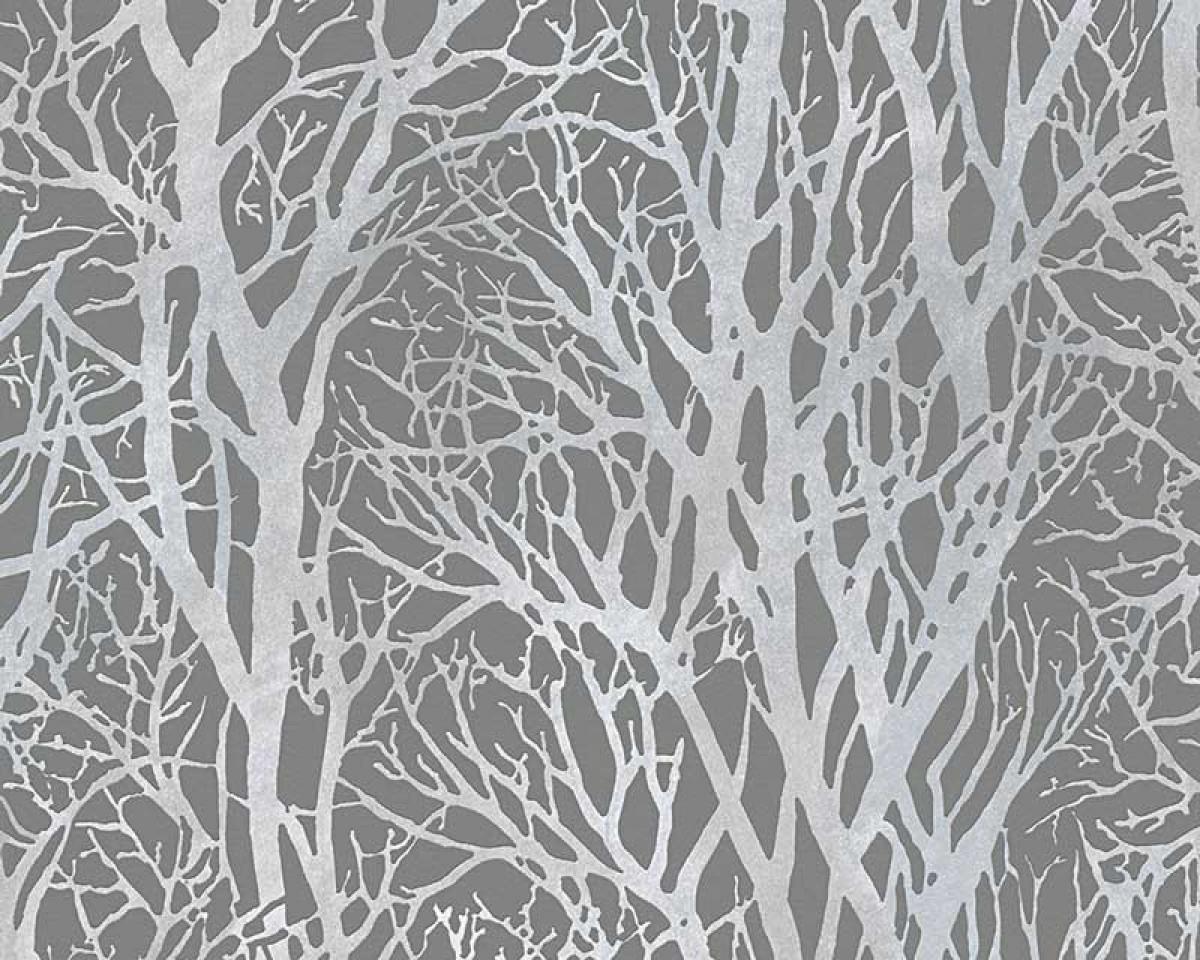 tapet med træer Tapet Bestsellers Sølv træer tapet med træer
