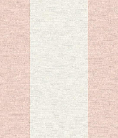 Tapet No. 3 Stribet tapet med lyserøde striber