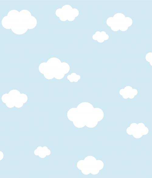 Tapet Bestsellers Blå himmel