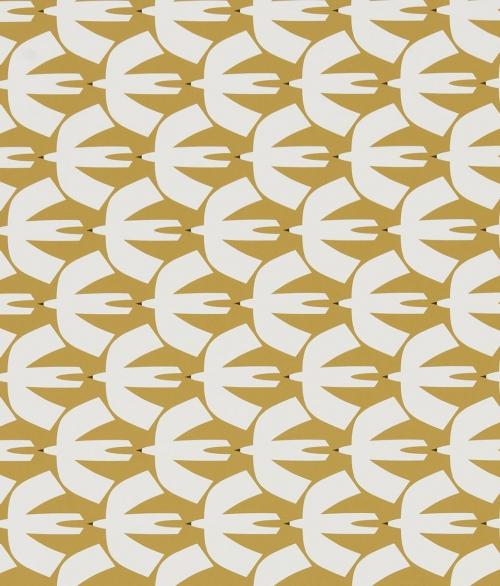 Tapet gule måger - Pajaro