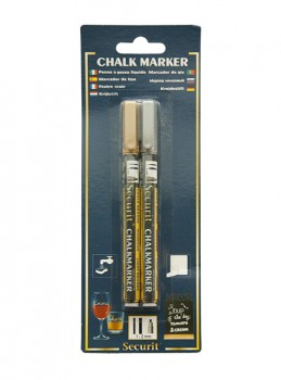 Securit Chalkmarker 2 stk. 1-2 mm