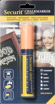 Securit Chalkmarker 7-15mm orange