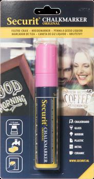 Securit Chalkmarker 7-15mm lyserød