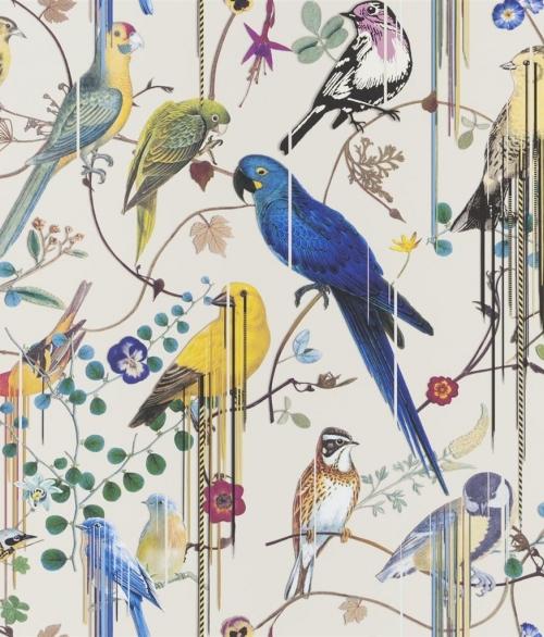 Tapet Birds Sinfonia Beige