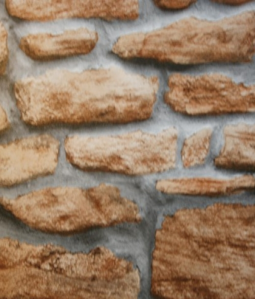 Selvklæbende Folie Stone Wall 45x200cm