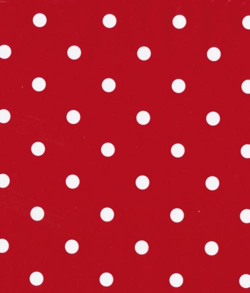 Selvklæbende Folie Rød Dots 45x200cm