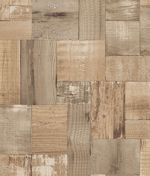 Tapet 2050-1 Squared wood
