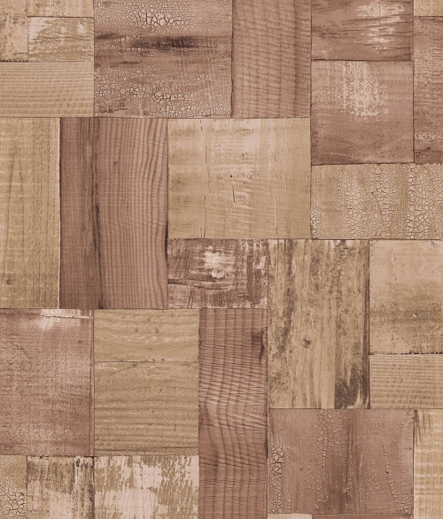 Tapet 2050-2 Squared wood