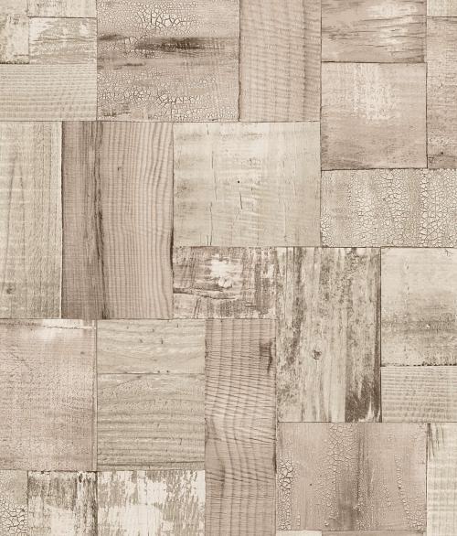 Tapet 2050-3 Squared wood