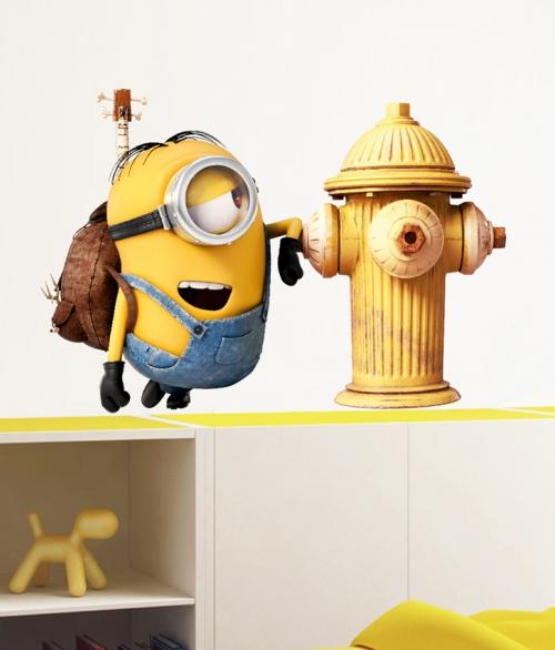 Minions Fire Hydrant
