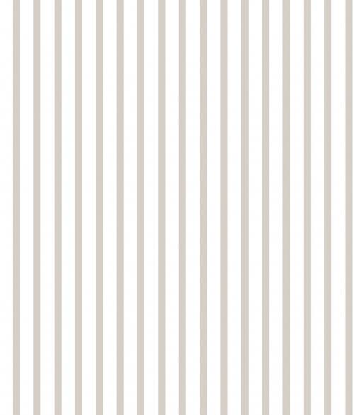 Tapet - Små striber i grå og hvid