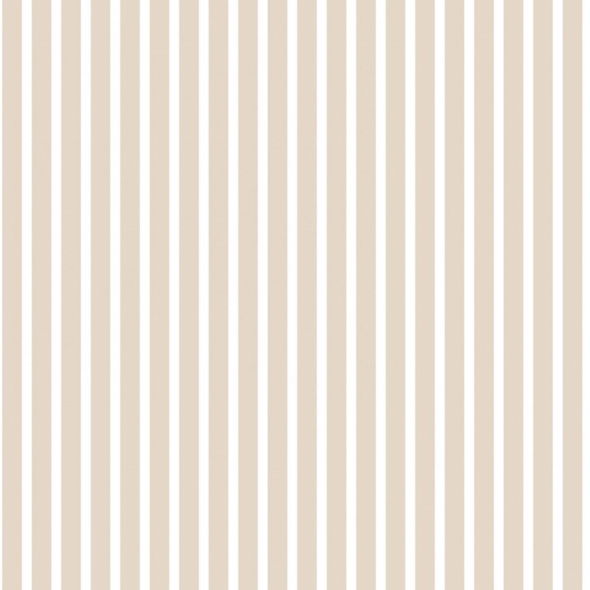 Tapet - Små striber i beige