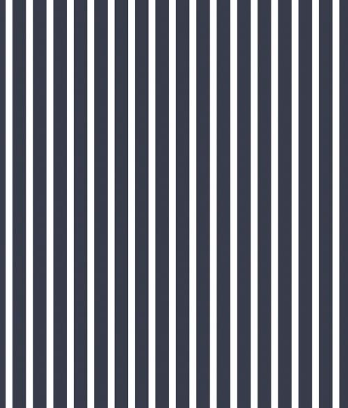 Tapet - Små striber i blå