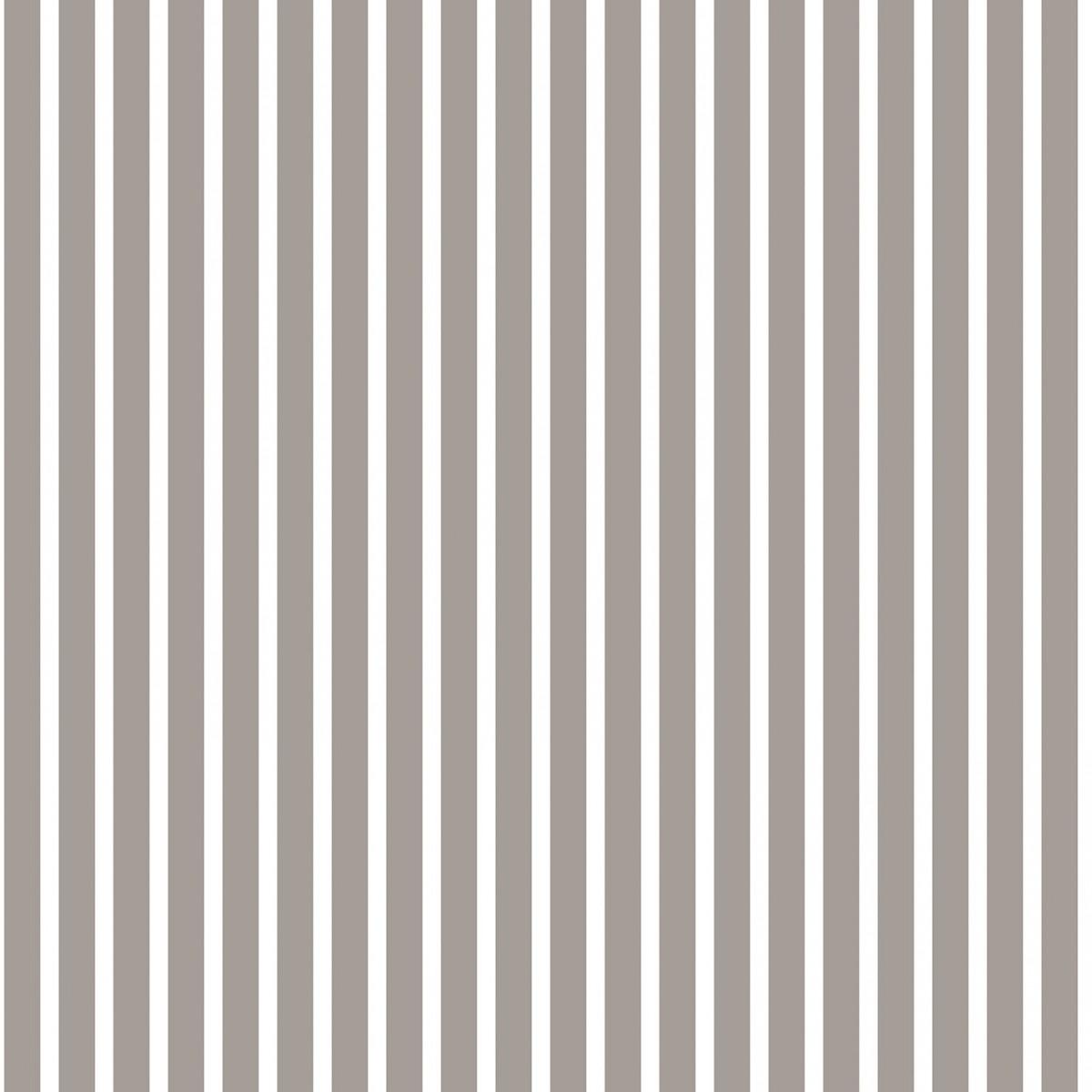 Tapet - Små striber i mørk grå