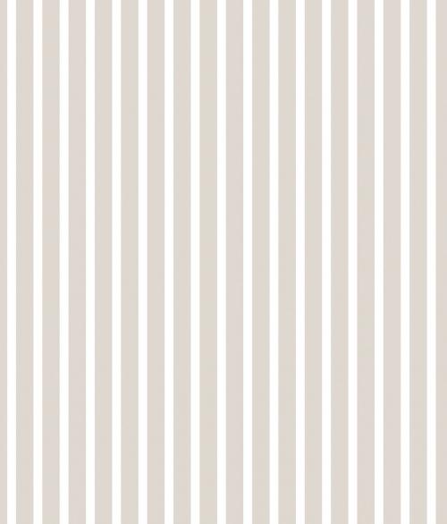 Tapet - Små striber i lys grå