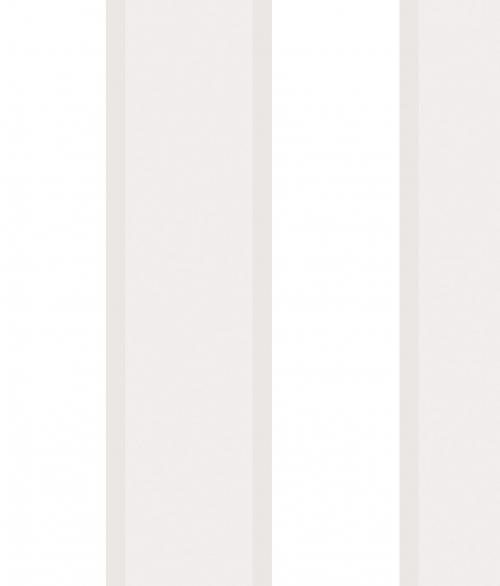 Tapet - Store og små striber i sølv og grå