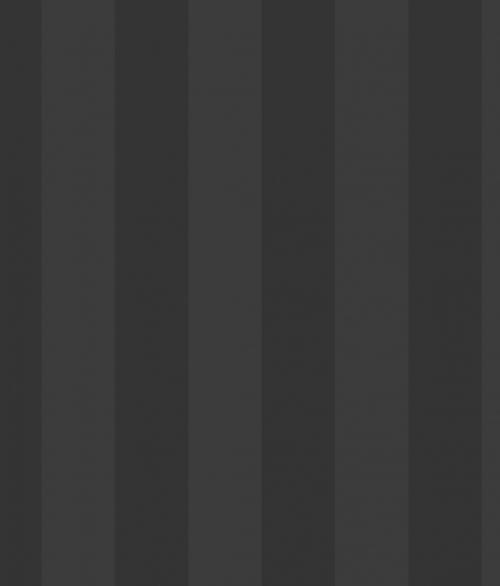 Tapet - Striber 6.7 cm i sort