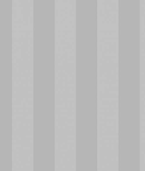 Tapet - Striber 6.7 cm i sølv