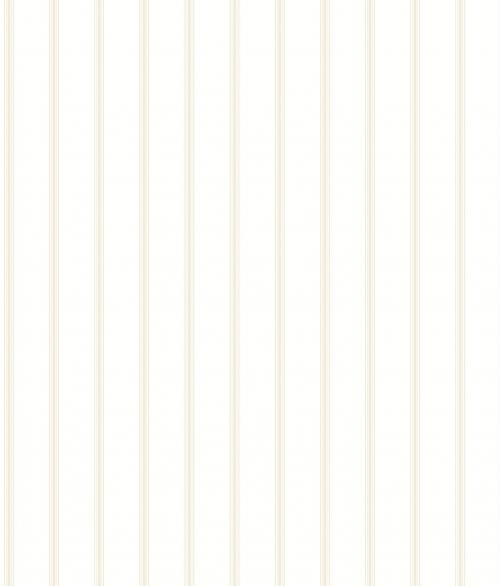 Tapet - Små romantiske striber i beige