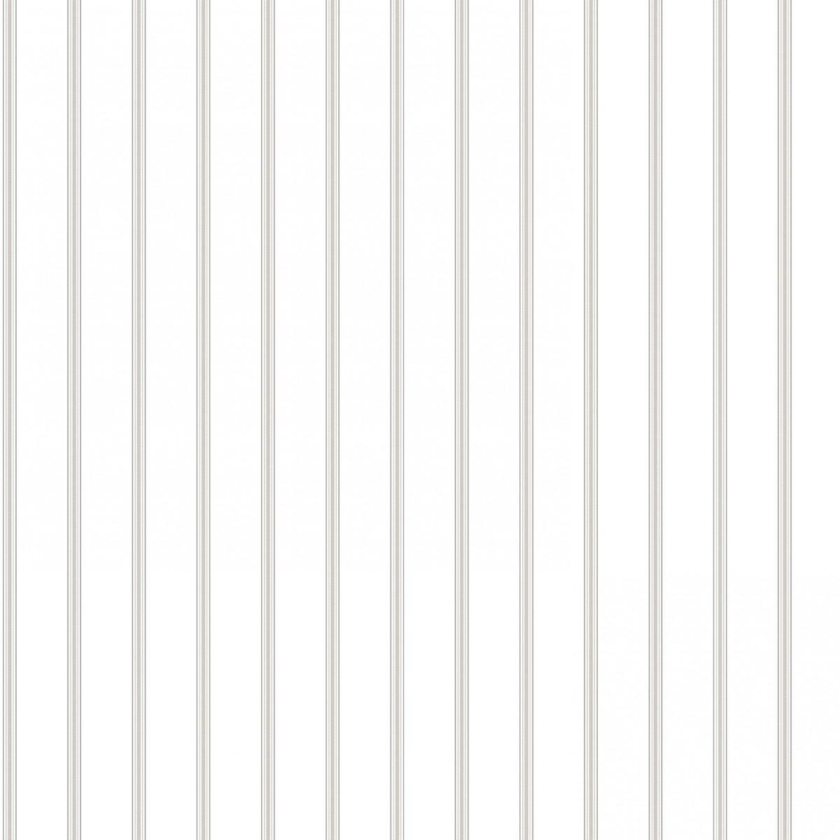 Tapet - Små romantiske striber i grå