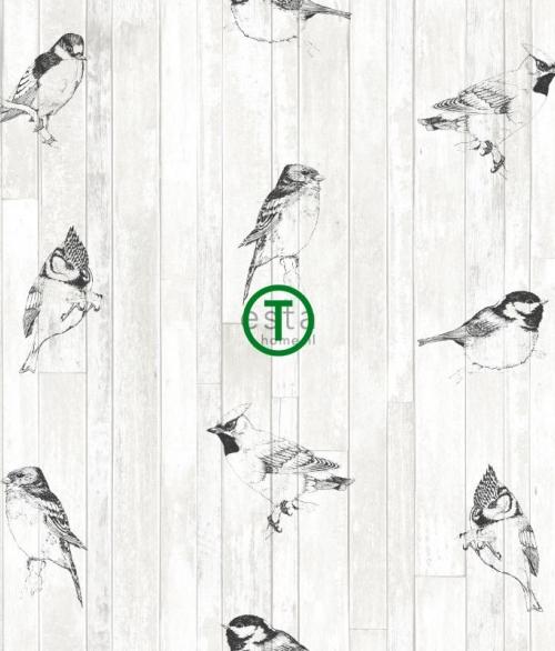 Tapet 128834 - Fugle