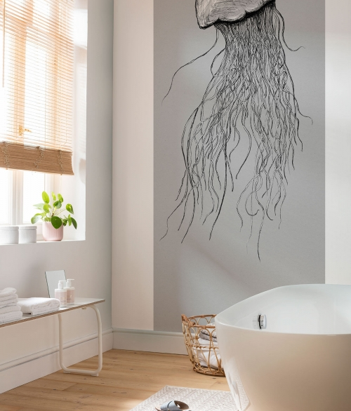 Fototapet Jellyfish Panel