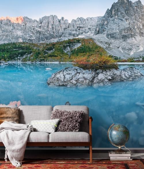 Fototapet Alpine Treasure