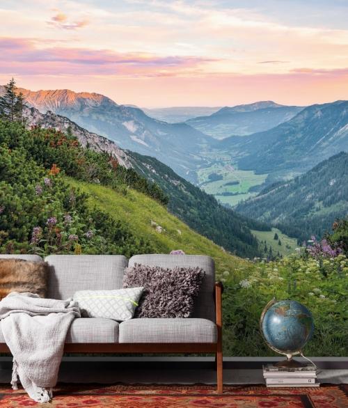Fototapet Alps