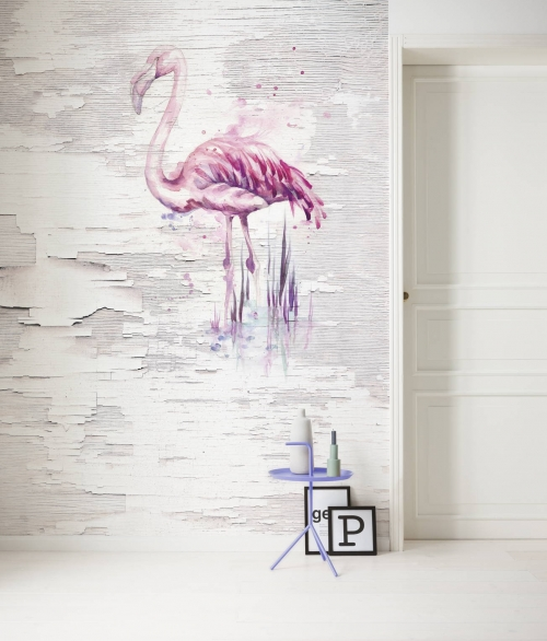 Fototapet Pink Flamingo