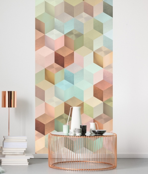 Fototapet Cubes Panel