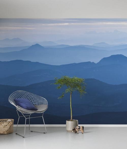 Fototapet Blue Mountain