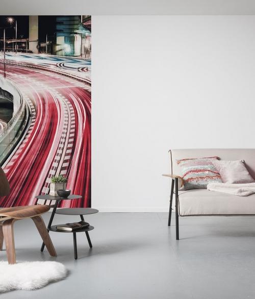 Fototapet Speed Painting Panel