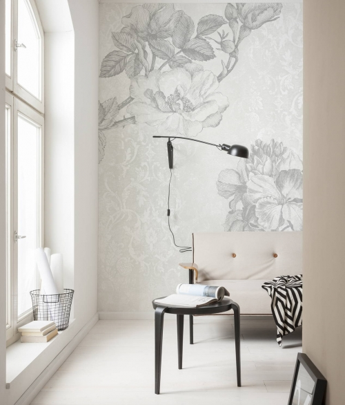 Fototapet Baroque Grey