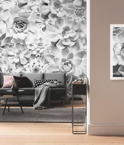 Fototapet Shades Black and White