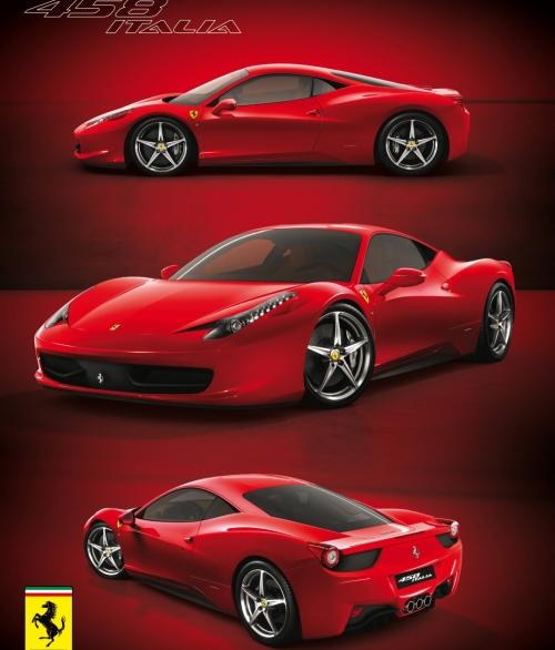 1Wall Deco Ferrari L001