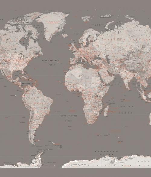 tapet verdenskort