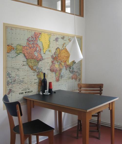 Verdenskort Oldmap 186 x 123 cm