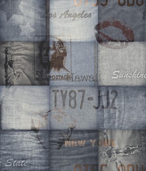 Tapet EW2202 Jeans