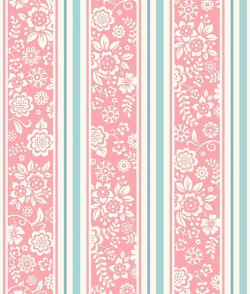 Tapet JR4102 Flower Stripes
