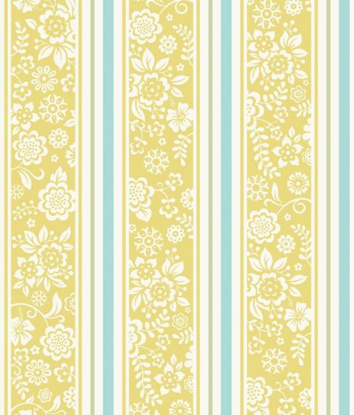 Tapet JR4103 Flower Stripes
