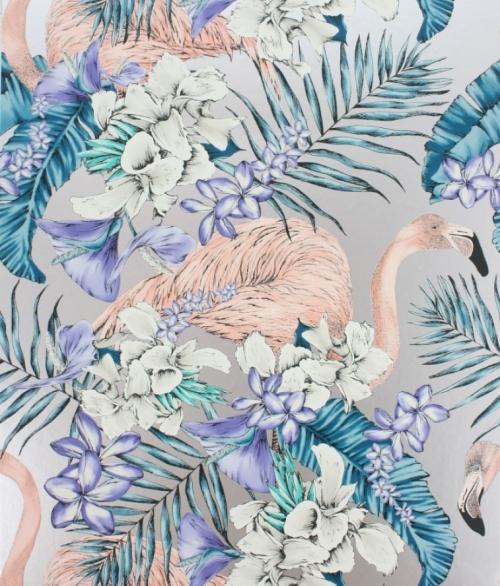 Tapet Cubana 3 RULLER - tapet med flamingoer W6800-05