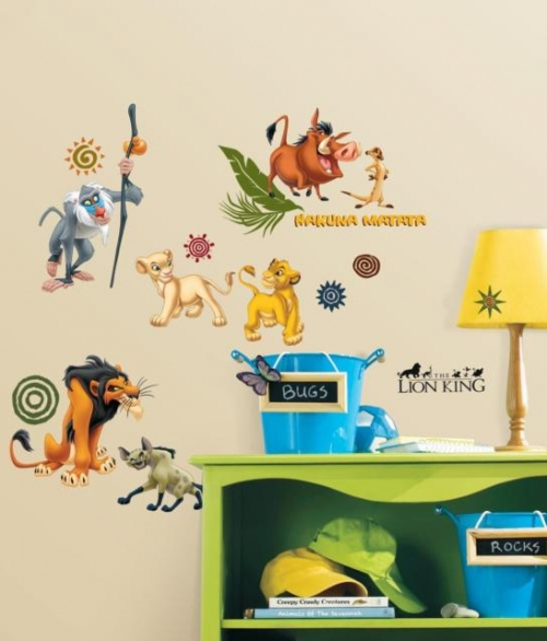 Wallsticker Lion King
